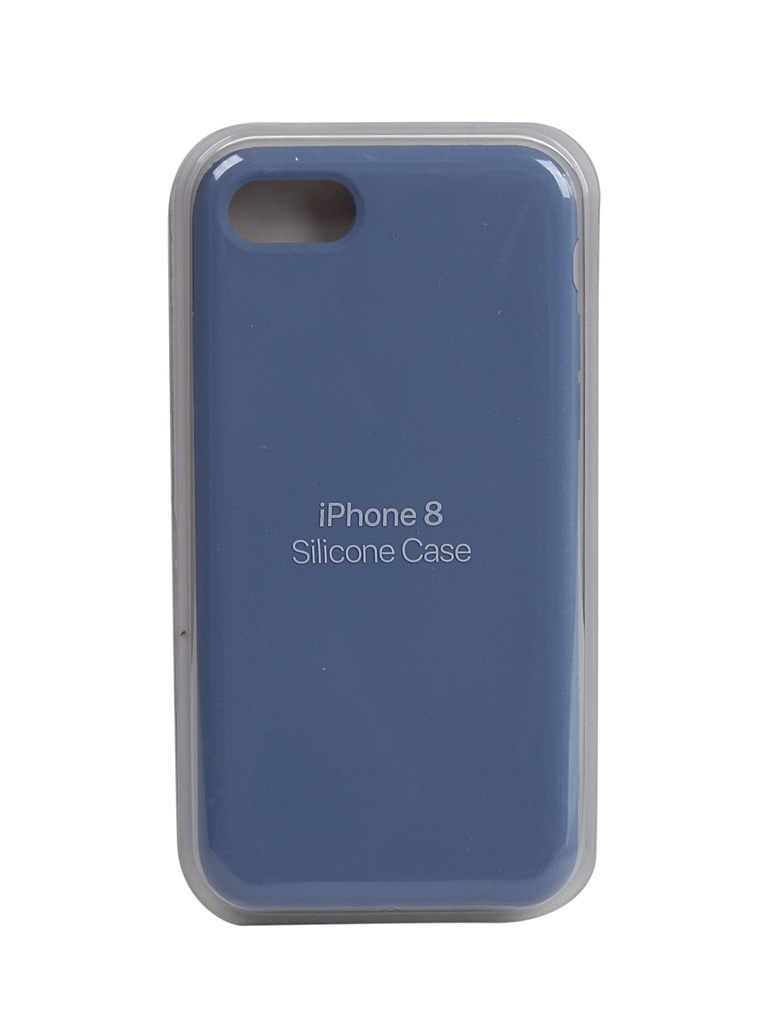 Чехол Innovation для APPLE iPhone SE (2020) Silicone Case Blue 17028