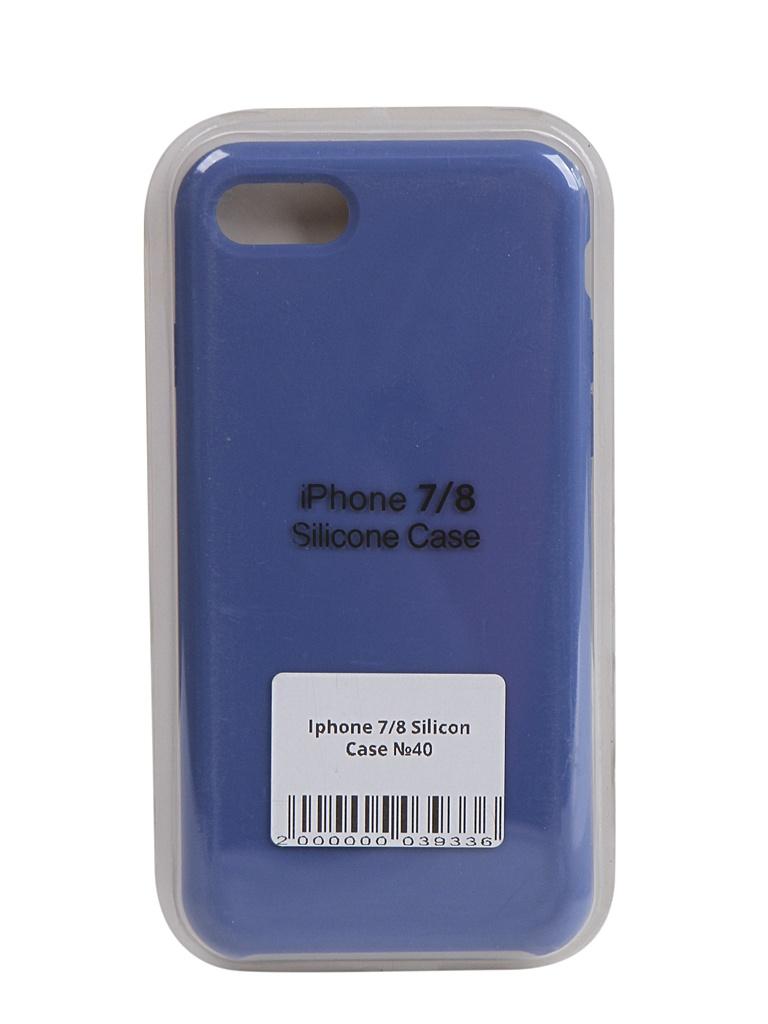 Чехол Innovation для APPLE iPhone SE (2020) Silicone Blue 17022