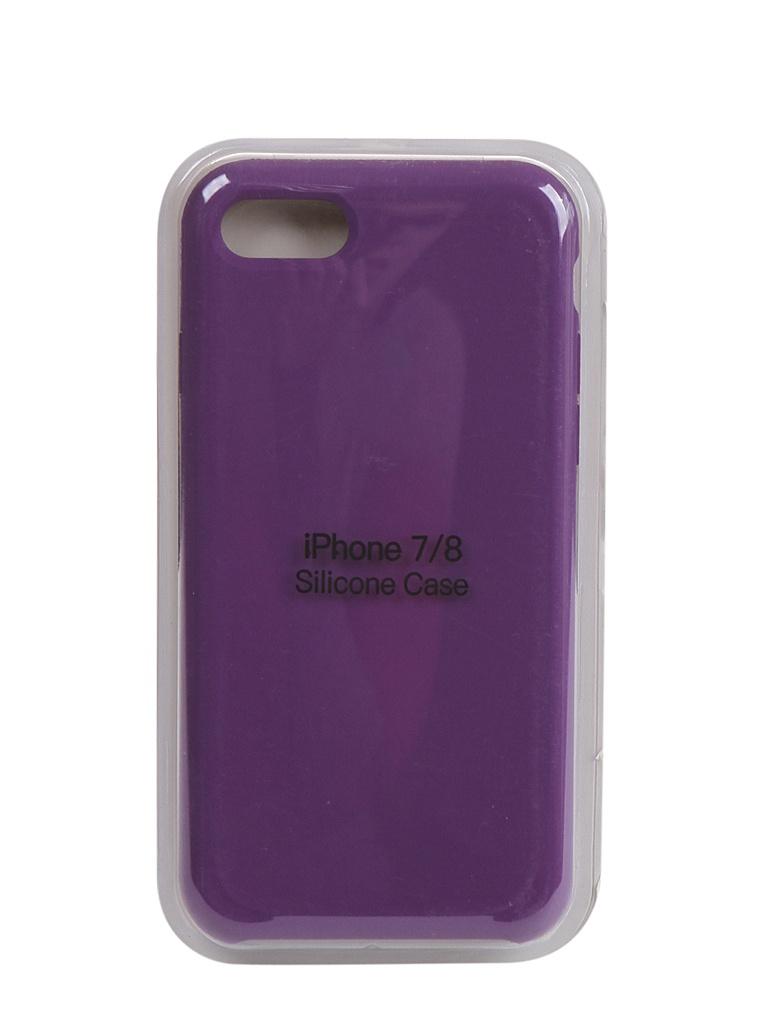 Чехол Innovation для APPLE iPhone SE (2020) Silicone Case Violet 17021