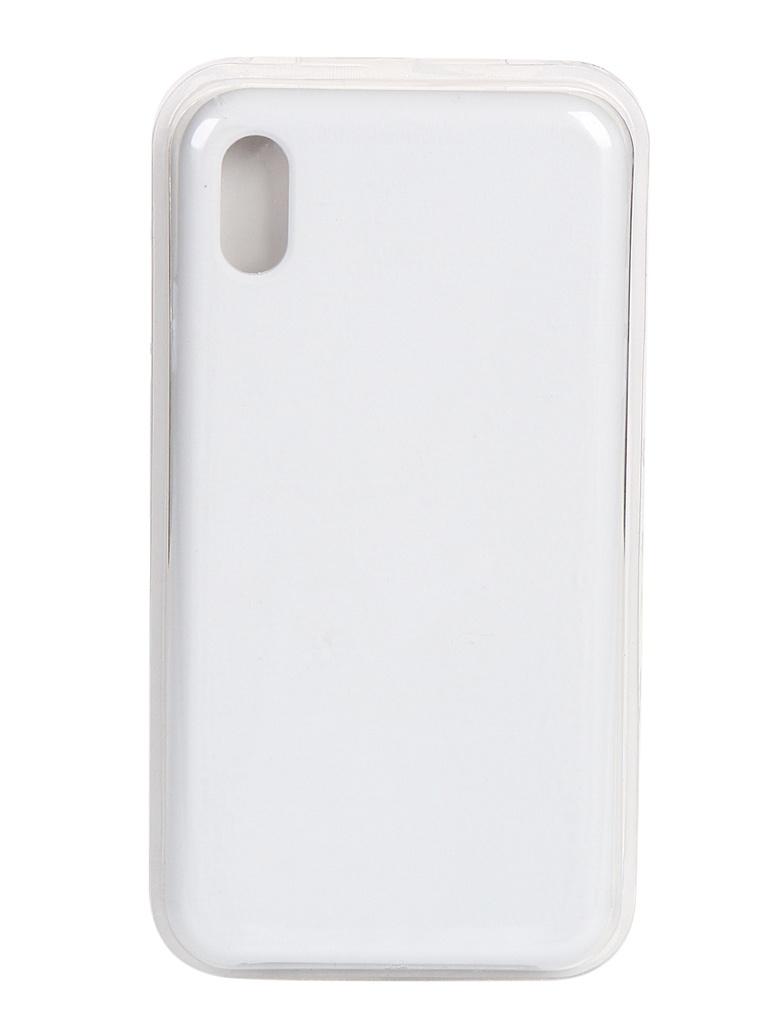 Чехол Innovation для APPLE iPhone XSMax Silicone Case White 16815