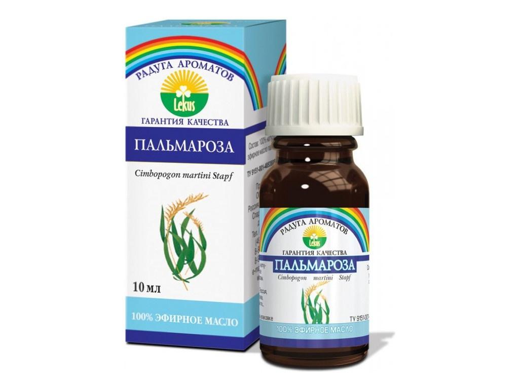Масло эфирное Lekus Пальмароза 10ml 91622