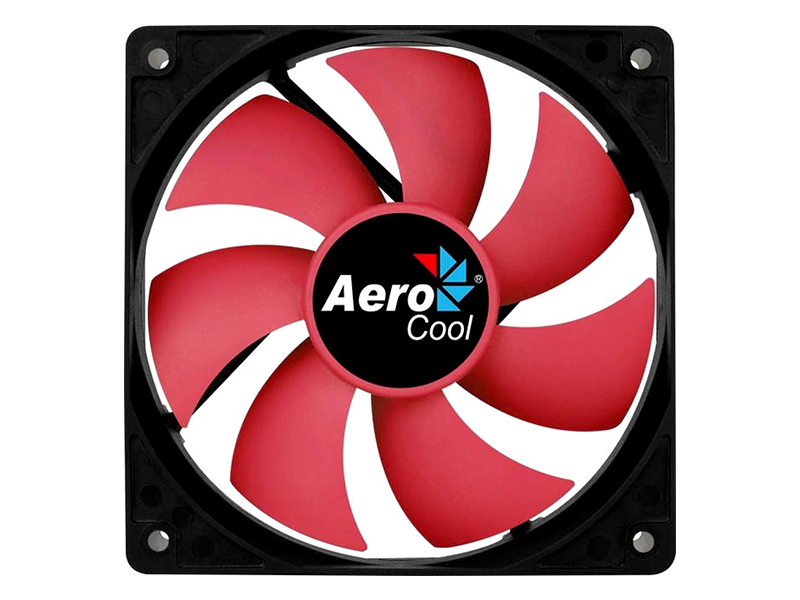 Вентилятор AeroCool Fan Force 12 PWM 120mm Red Blade 4718009158030