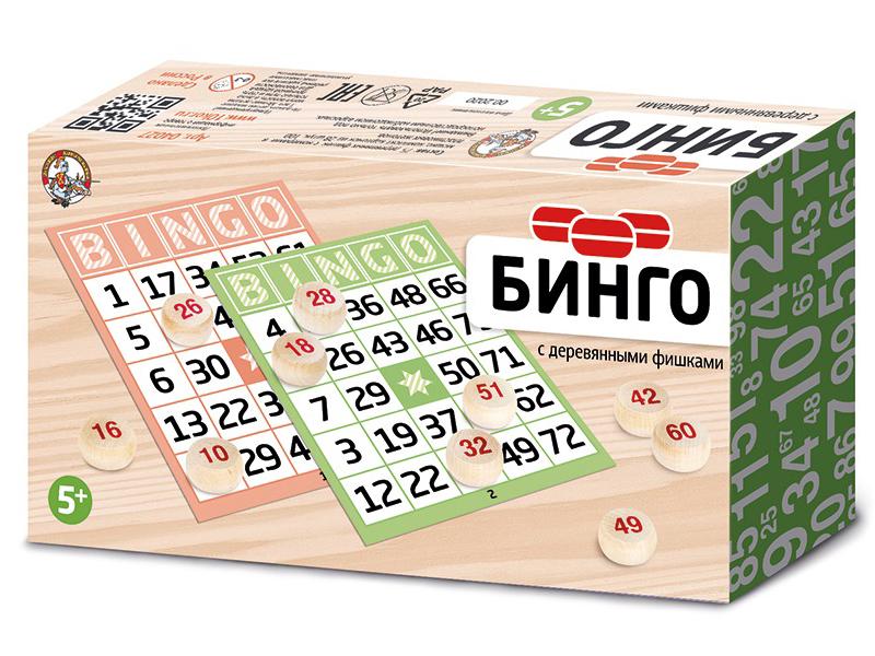 Настольная игра Десятое Королевство Бинго 04042