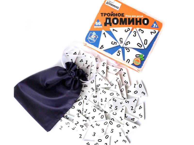 Настольная игра Десятое Королевство Тройное домино 02982