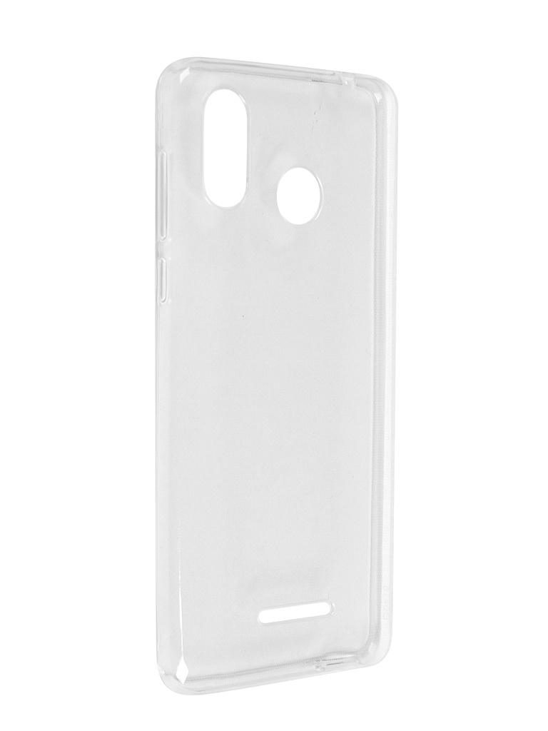 Чехол BQ для BQ-5740G Spring Silicone Transparent