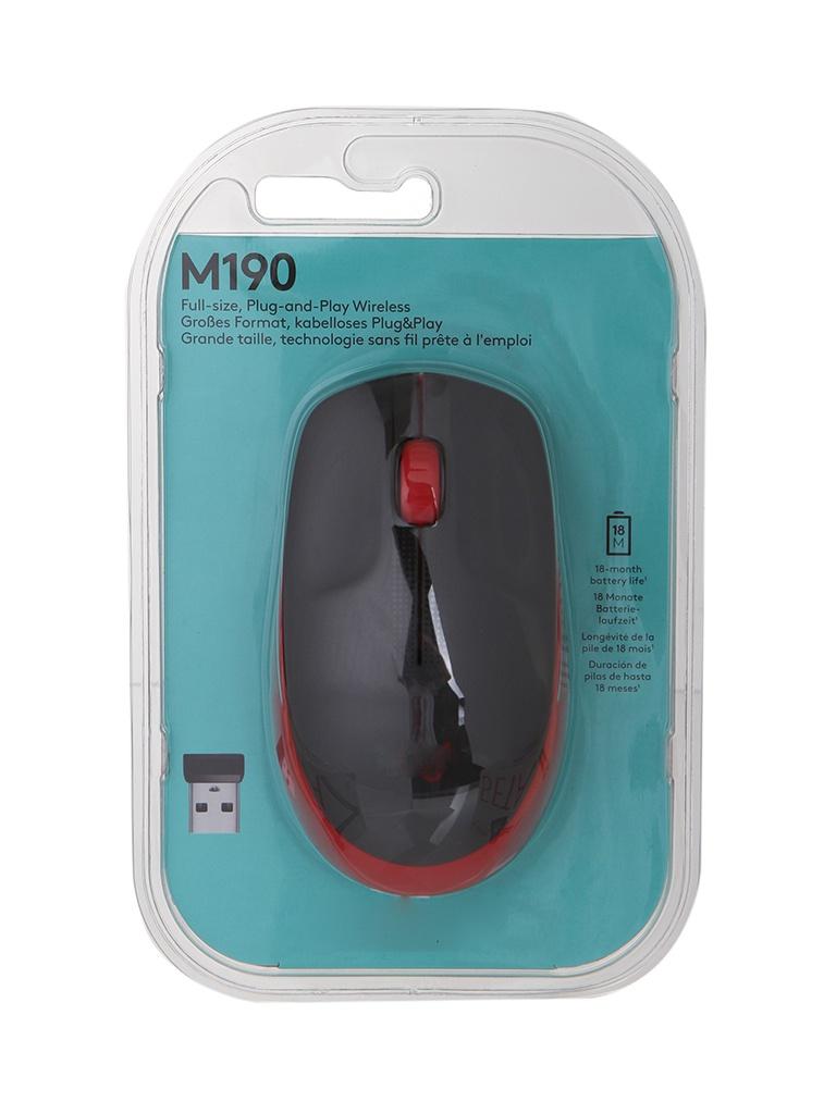 Мышь Logitech M190 Red 910-005908