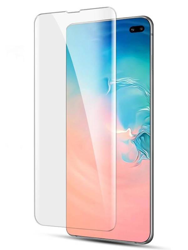 Защитное стекло Krutoff для Samsung Galaxy S10 Plus 3D Premium 20303