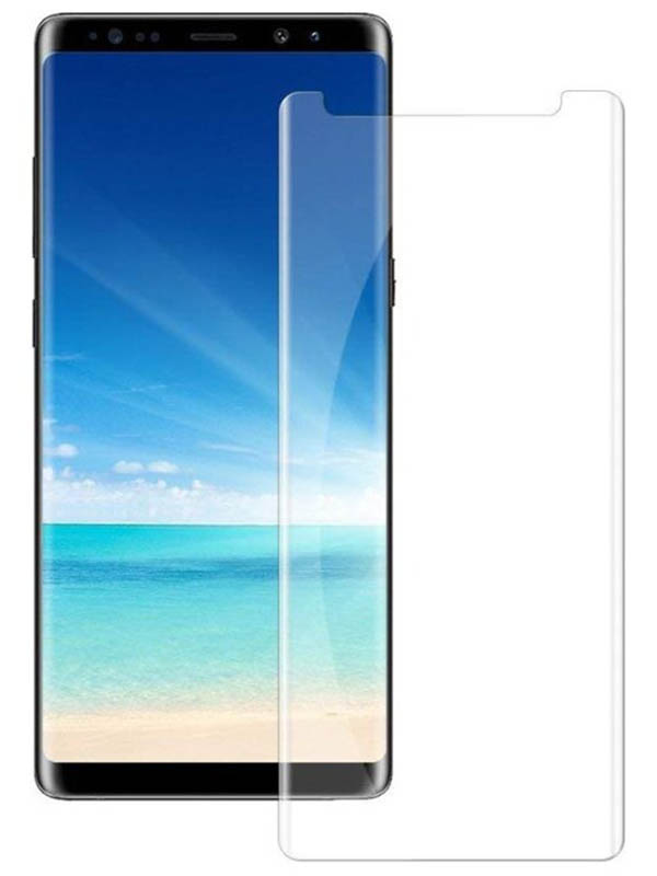 Защитное стекло Krutoff для Samsung Galaxy Note 9 3D Premium 20296