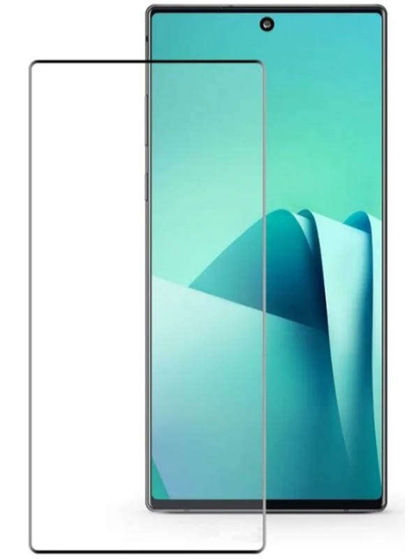 Защитное стекло Krutoff для Samsung Galaxy Note 10 3D Premium 20304