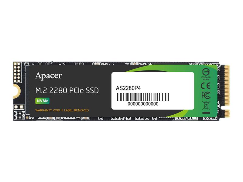 Твердотельный накопитель Apacer AS2280P4 512Gb AP512GAS2280P4-1
