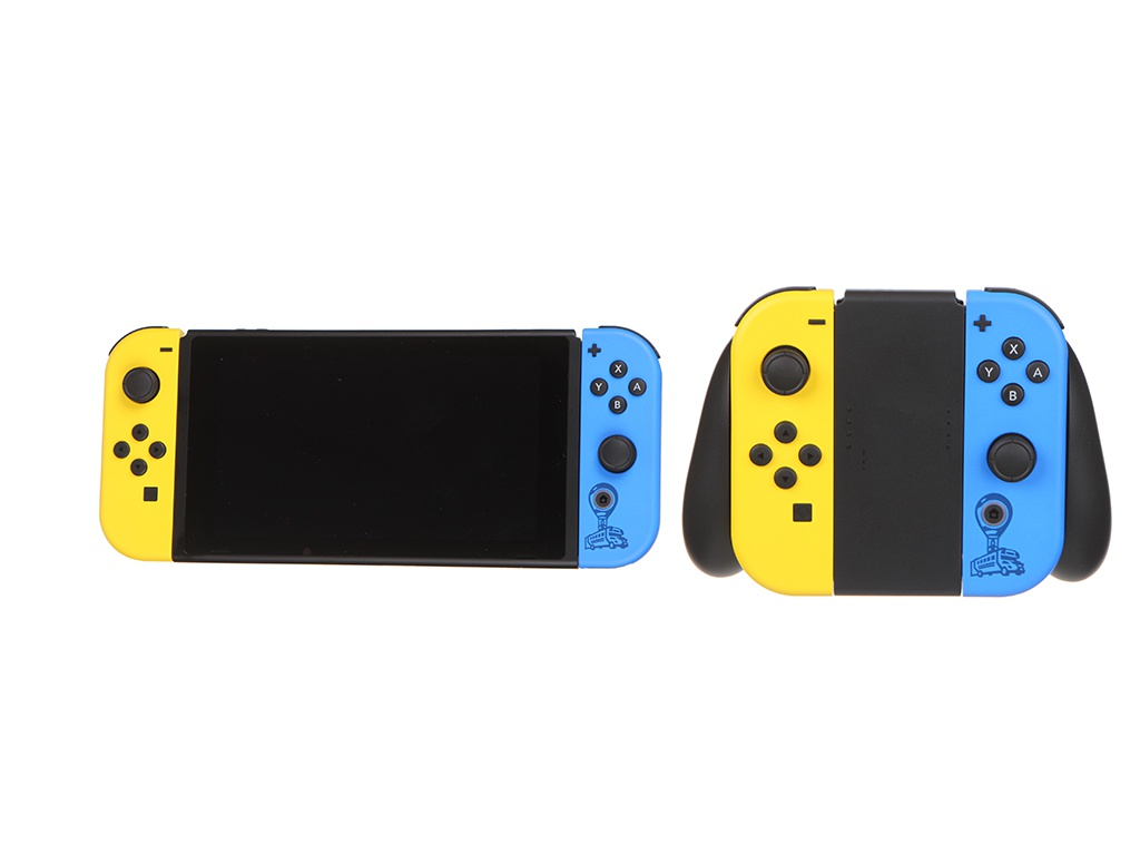 Игровая приставка Nintendo Switch Grey + Fortnite HAD-001-01