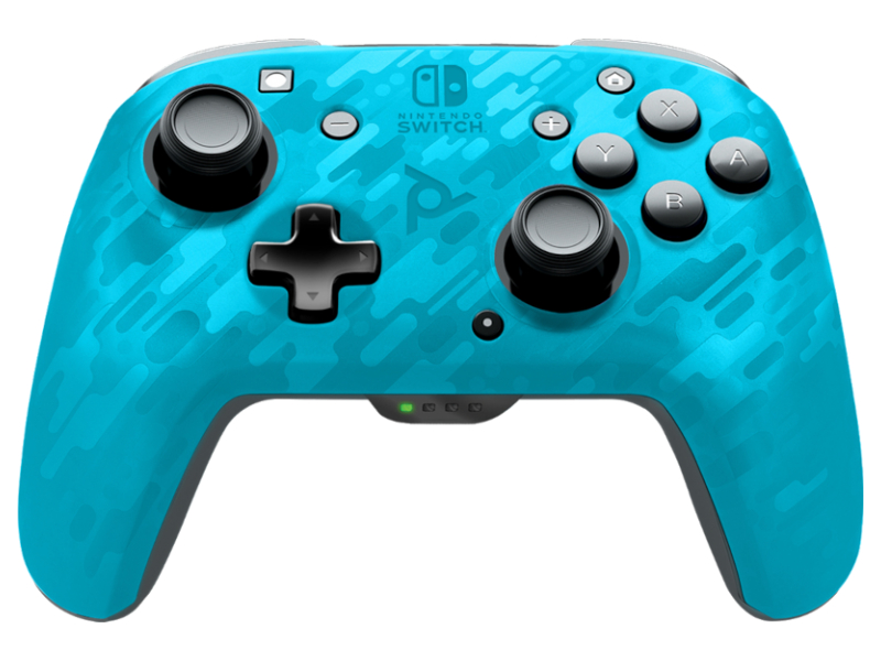 Геймпад PDP для Nintendo Switch Blue Camo 500-202-EU-CMLB