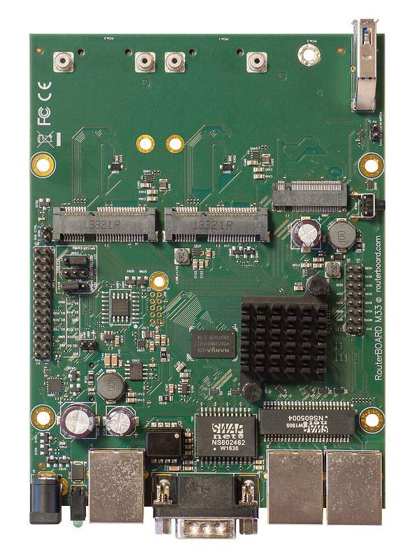 Материнская плата MikroTik RouterBoard M33G RBM33G