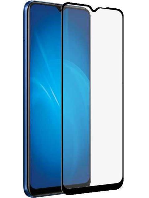 Защитный экран Red Line для Realme C15 Full Screen Tempered Glass Glue Black УТ000022064