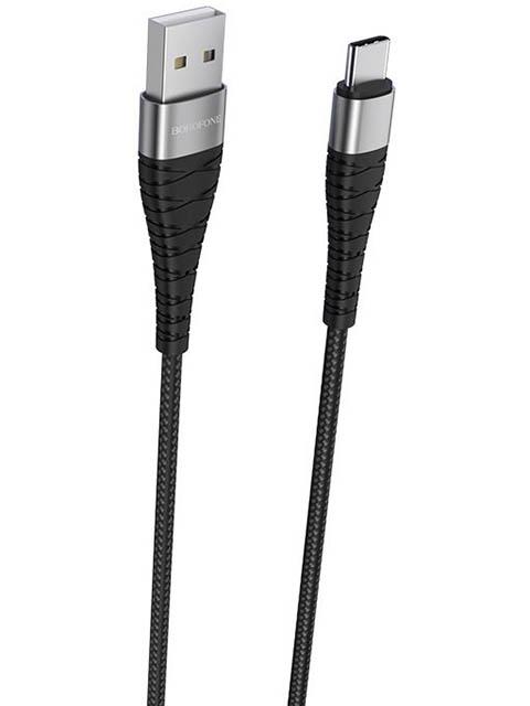 Аксессуар Borofone BX32 Munificent USB - Type-C 5A Black УТ000021830