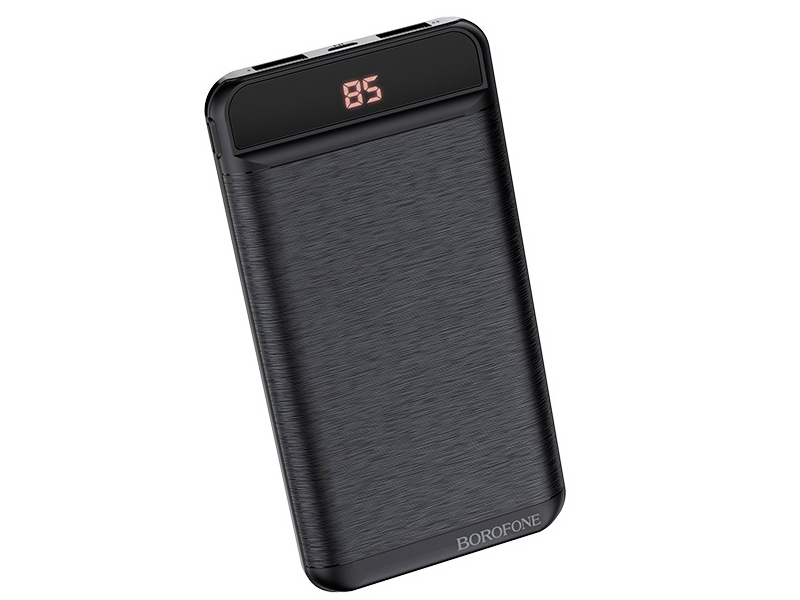 Внешний аккумулятор Borofone Power Bank BT29 Vigor 10000mAh Black УТ000021799