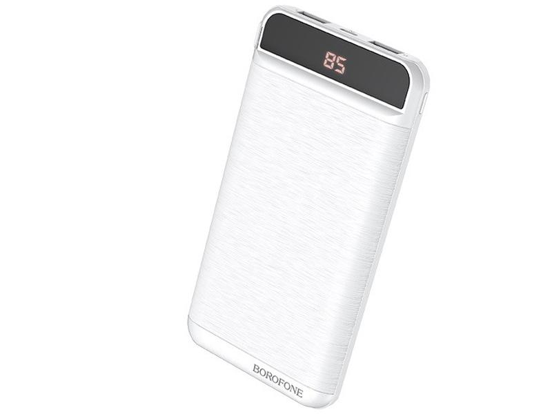 Внешний аккумулятор Borofone Power Bank BT29 Vigor 10000mAh White УТ000021798