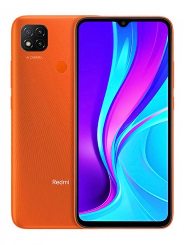 Сотовый телефон Xiaomi Redmi 9C 3/64Gb Orange Выгодный набор для Selfie + серт. 200Р!!!