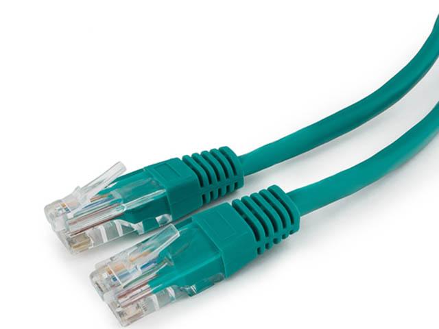 Сетевой кабель Ripo UTP сat.5e RJ45 0.5m Green 003-300017