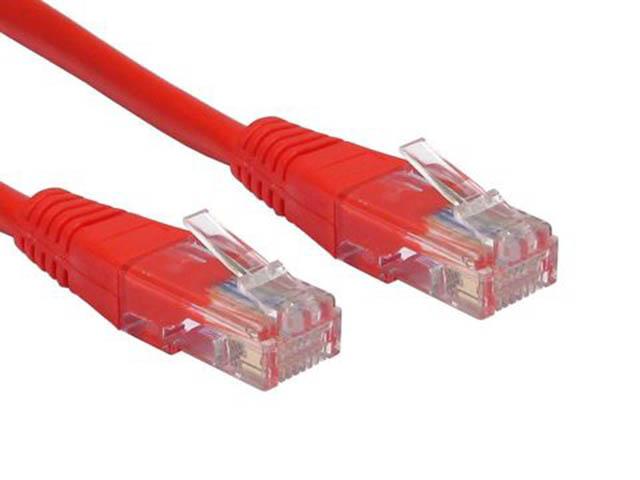 Сетевой кабель Ripo UTP сat.5e RJ45 1.0m Red 003-300020