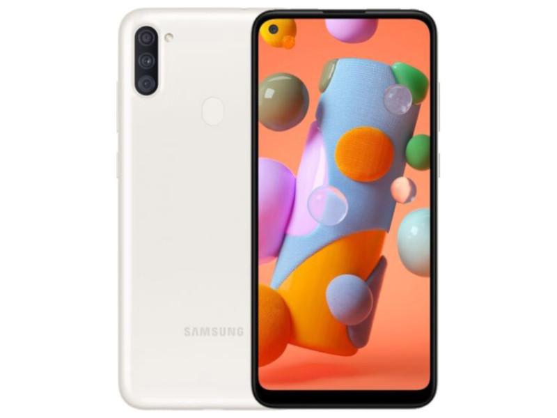 Сотовый телефон Samsung SM-A115F Galaxy A11 2Gb/32Gb White & Wireless Headphones Выгодный набор + серт. 200Р!!!
