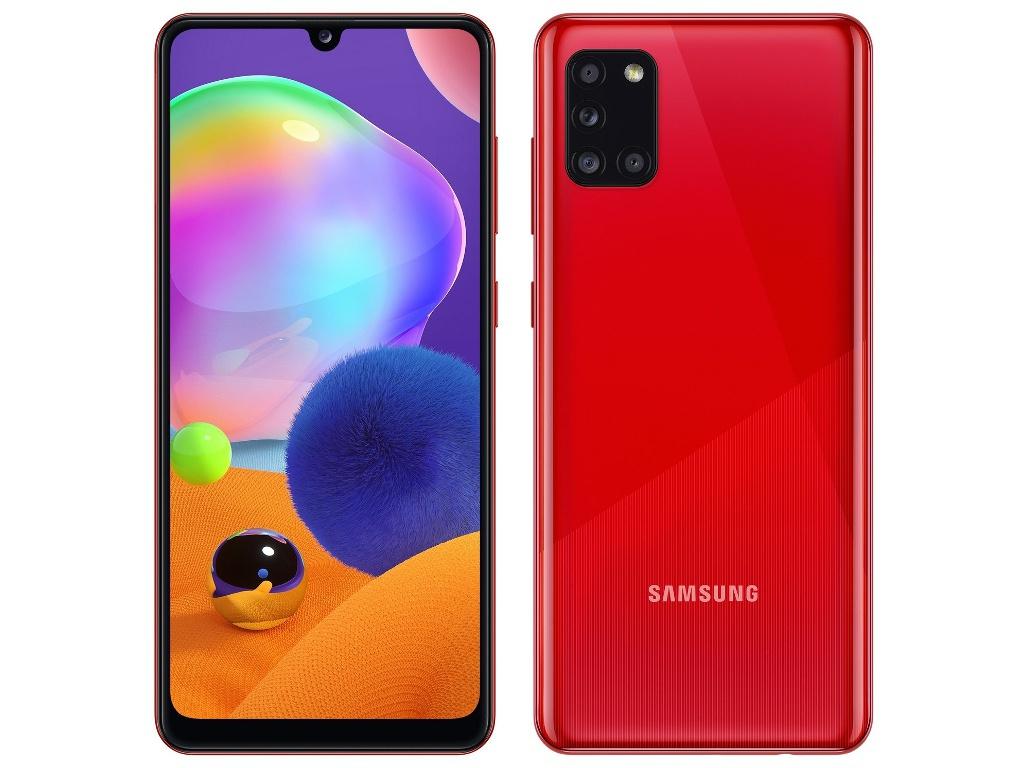 Сотовый телефон Samsung SM-A315F Galaxy A31 4/64Gb Red & Wireless Headphones Выгодный набор + серт. 200Р!!!