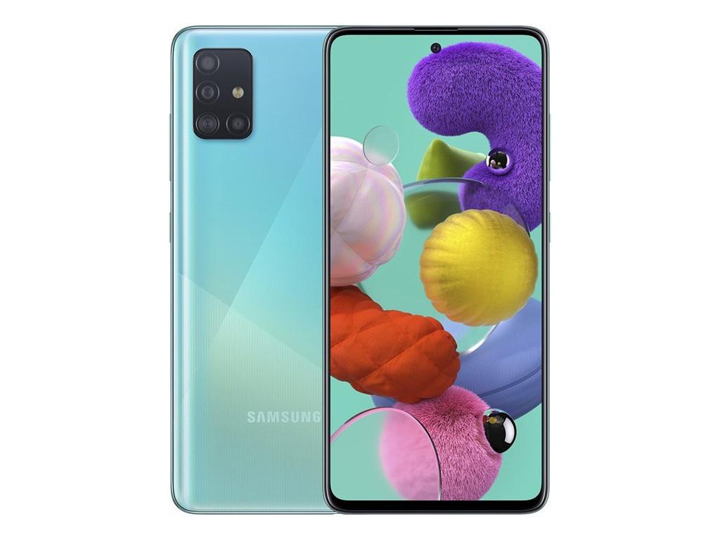 Сотовый телефон Samsung SM-A515F Galaxy A51 4Gb/64Gb blue & Wireless Headphones Выгодный набор + серт. 200Р!!!