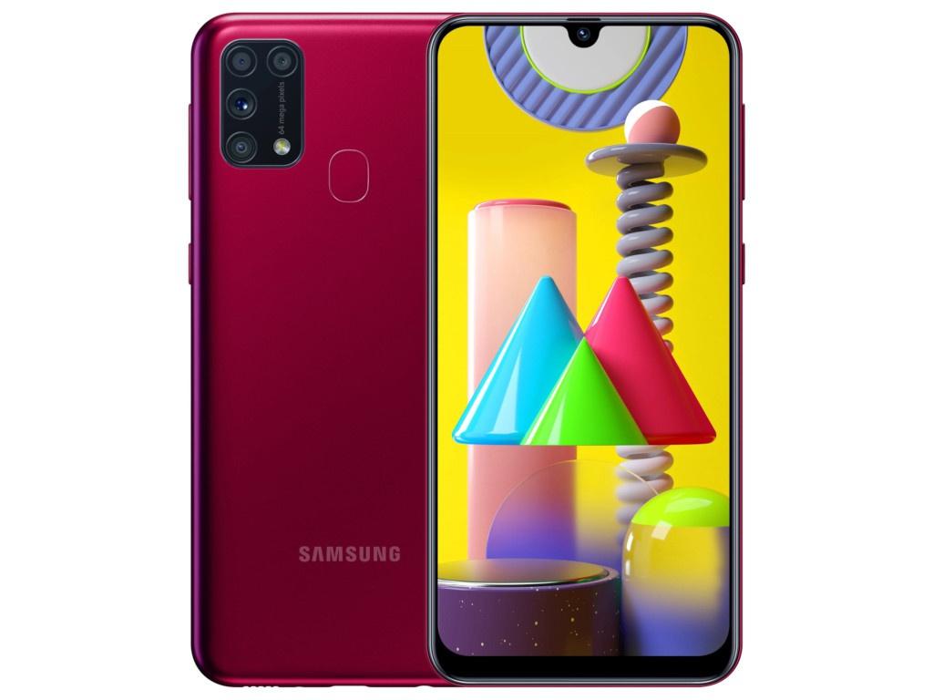 Сотовый телефон Samsung SM-M315F Galaxy M31 6Gb/128Gb Red & Wireless Headphones Выгодный набор + серт. 200Р!!!