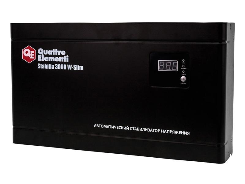 Стабилизатор Quattro Elementi Stabilia 3000 W-Slim 640-537