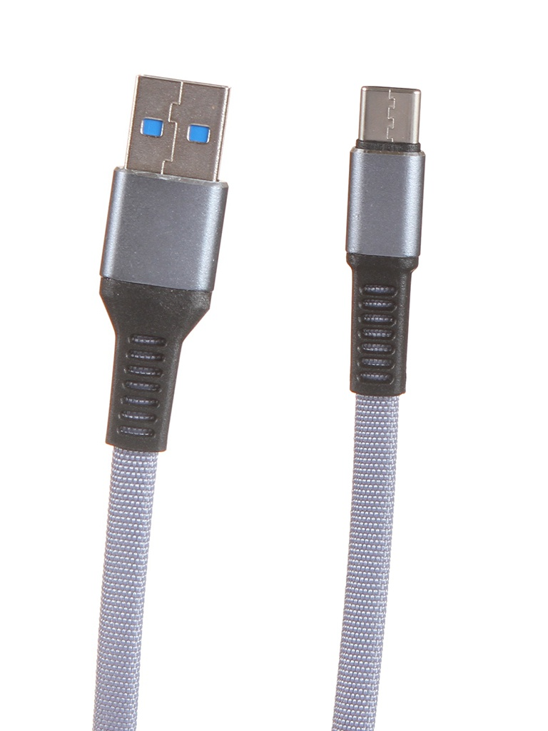 Аксессуар Maverick Textile & Metall C3 USB - Type-C 1.2m Grey ПSELAEP1822