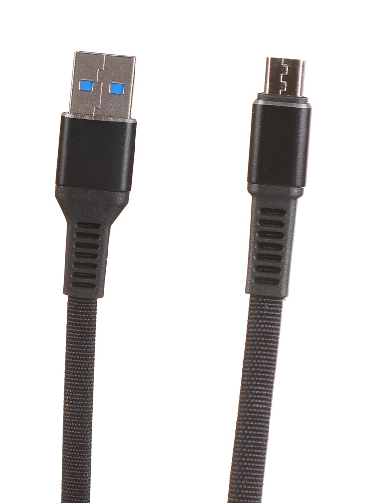Аксессуар Maverick Textile & Metall C3 USB - micro 1.2m Black ПSELAEP1821