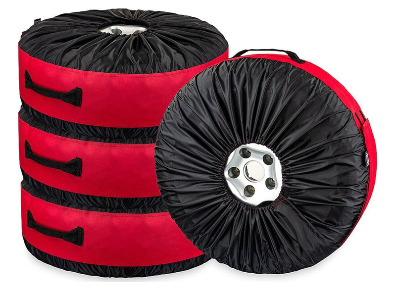Чехлы для автомобильных колес Comfort Address BAG-016 Red (4шт)