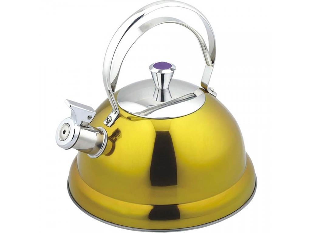 Чайник Bekker De Luxe 2.6L BK-S440 Yellow чайник bekker 2 0l bk s580