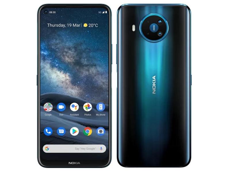Сотовый телефон Nokia 8.3 5G Dual Sim 8/128GB Blue