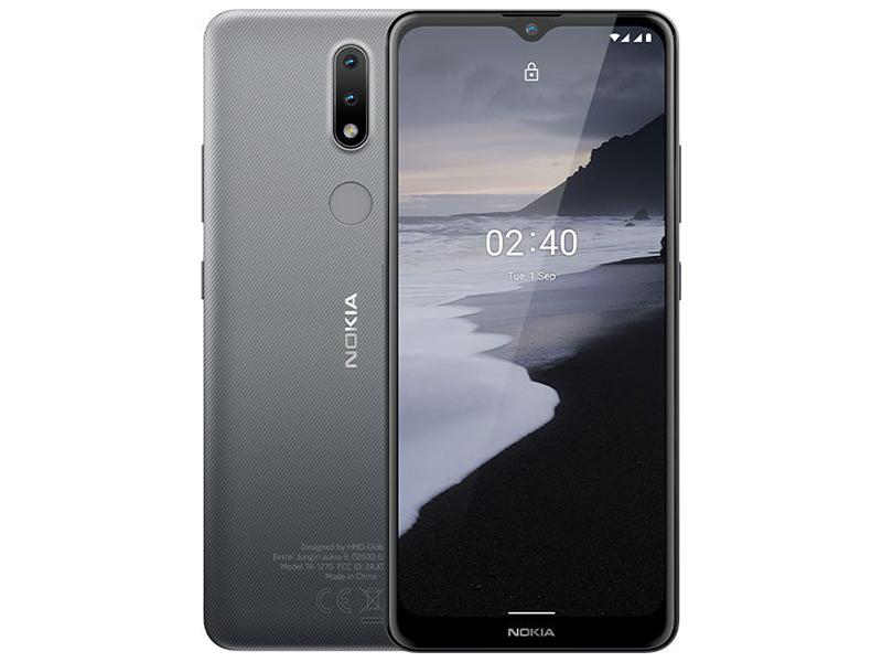 Сотовый телефон Nokia 2.4 3/64GB Grey сотовый