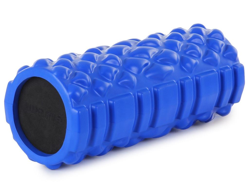 Цилиндр рельефный для фитнеса Harper Gym EG04 Blue