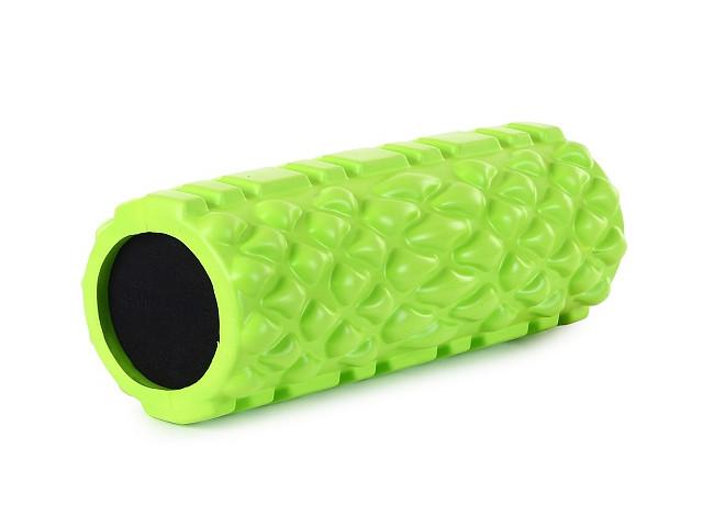 Цилиндр рельефный для фитнеса Harper Gym EG04 Lime Green