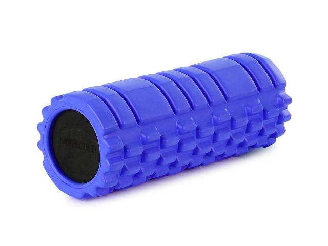 Цилиндр рельефный для фитнеса Harper Gym EG02 Blue