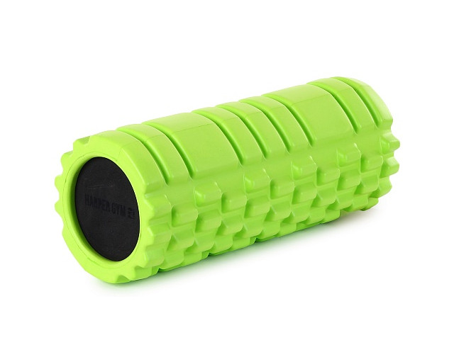 Цилиндр рельефный для фитнеса Harper Gym EG02 Lime Green