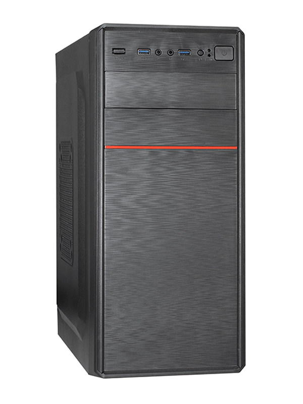 Корпус ExeGate XP-512U3-600W-12 ATX БП Black EX285178RUS