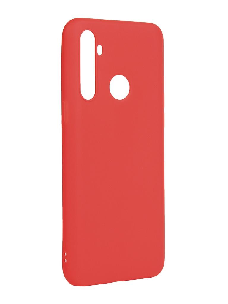 Чехол Zibelino для Realme 5 / 6i C3 Soft Matte Red ZSM-RLM-5-RED