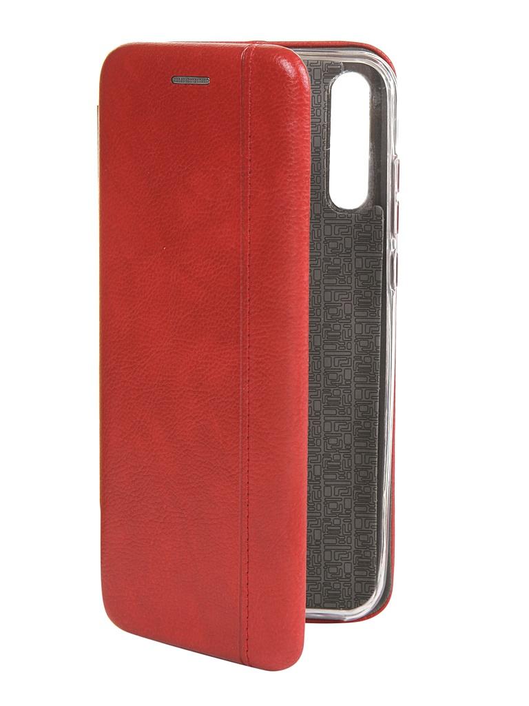 Чехол Zibelino для Huawei Y8p / Honor 30i Book Red ZB-HUW-Y8P-RED
