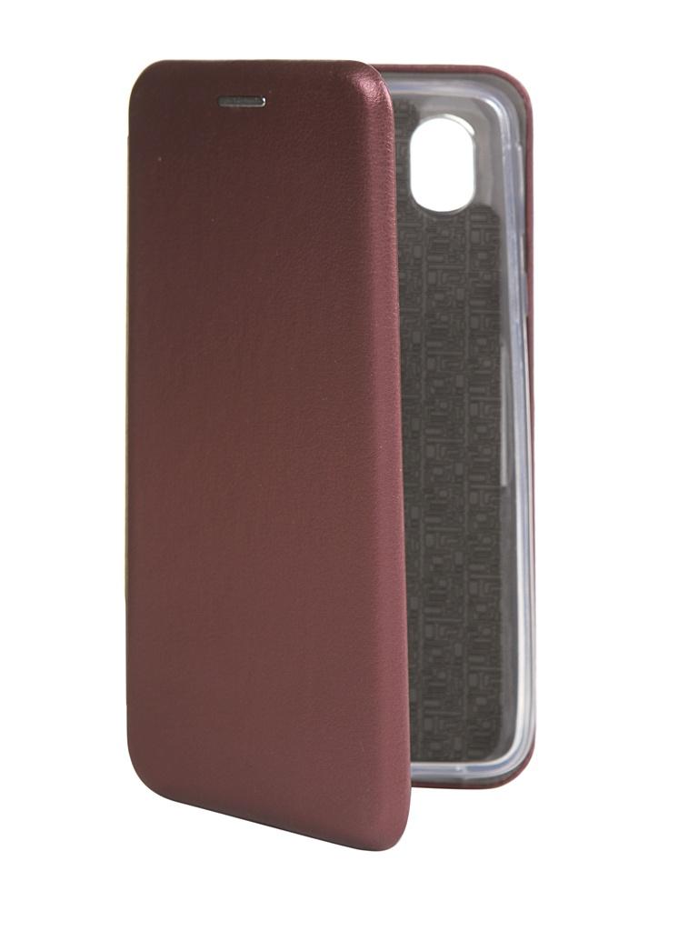 Чехол Zibelino для Samsung A01 Core (A013) Book Bordo ZB-SAM-A013-BRD