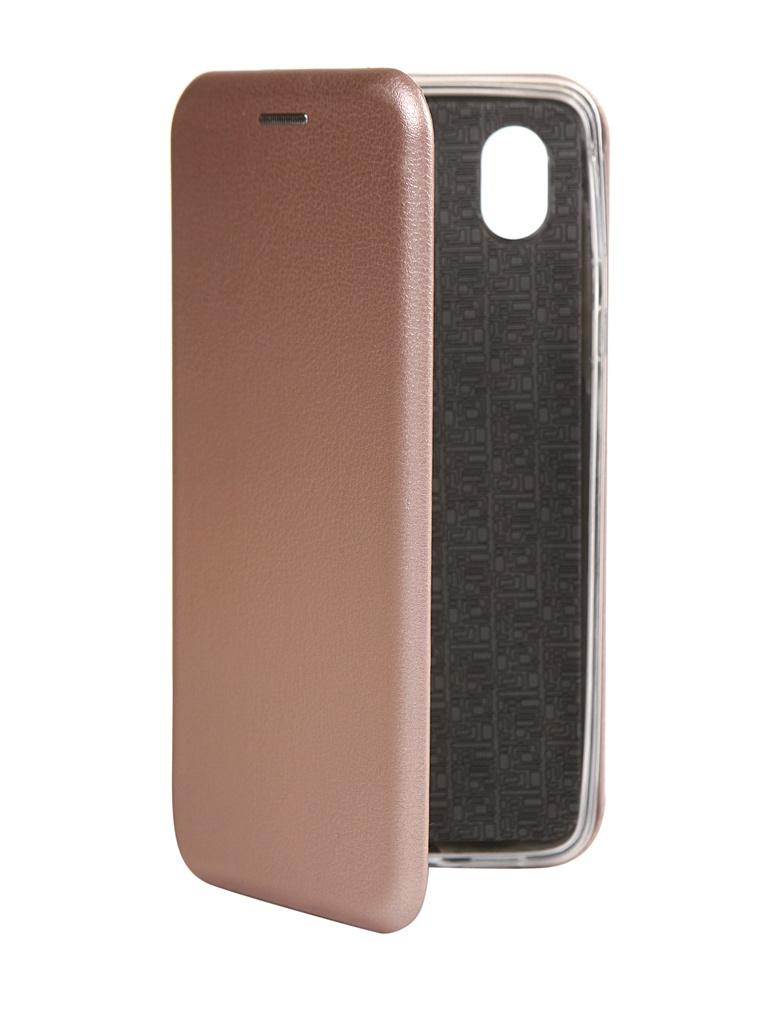 Чехол Zibelino для Samsung A01 Core (A013) Book Pink-Gold ZB-SAM-A013-PGLD