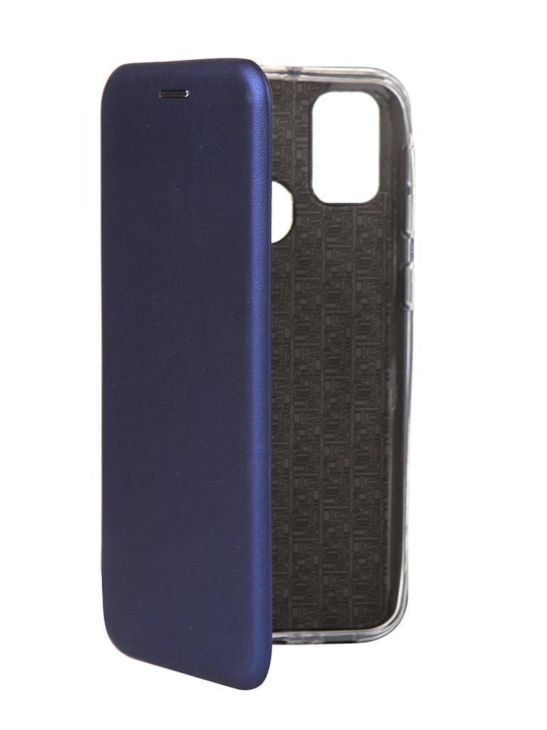 Чехол Zibelino для Samsung M21 / M30s (M115/M307) Book Blue ZB-SAM-M21-BLU