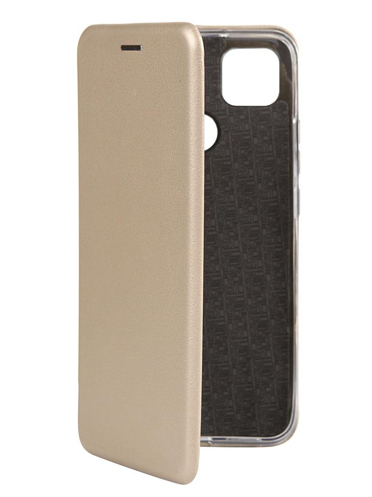 Чехол Zibelino для Xiaomi Redmi 9C Book Gold ZB-XIA-RDM-9C-GLD