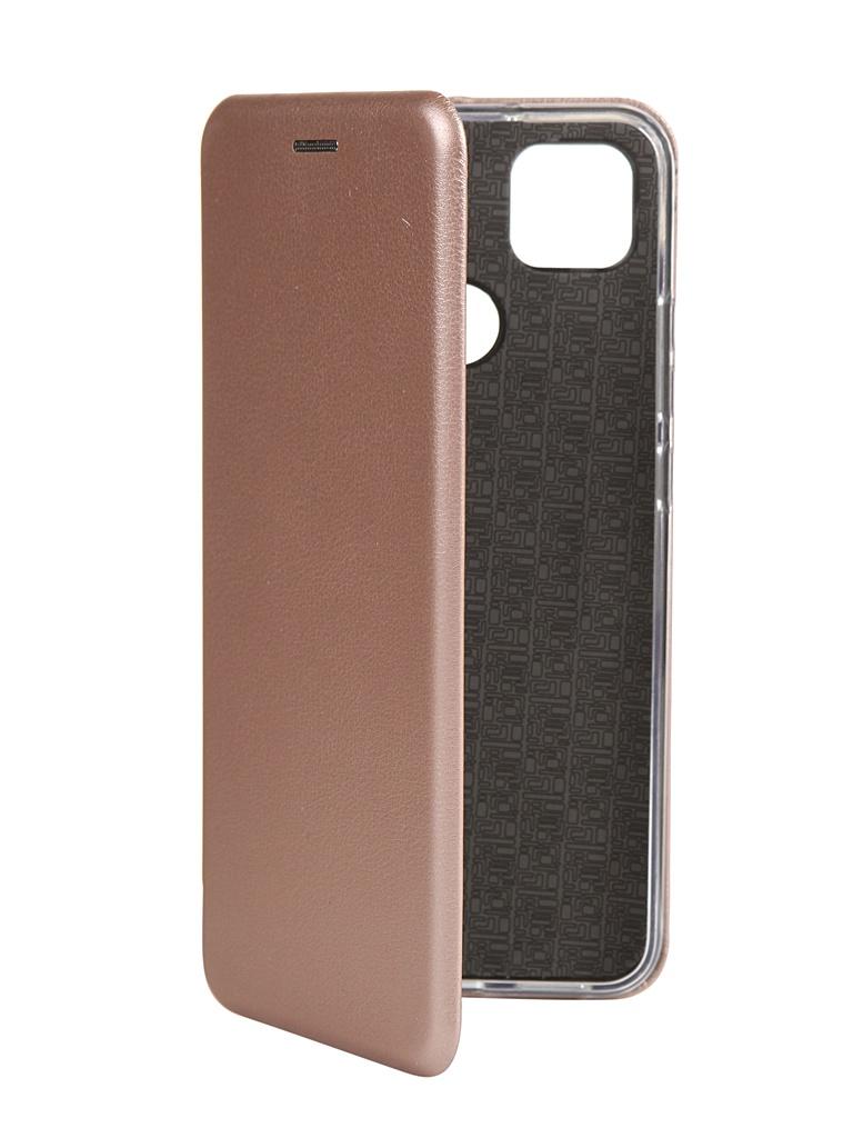 Чехол Zibelino для Xiaomi Redmi 9C Book Pink-Gold ZB-XIA-RDM-9C-PGLD