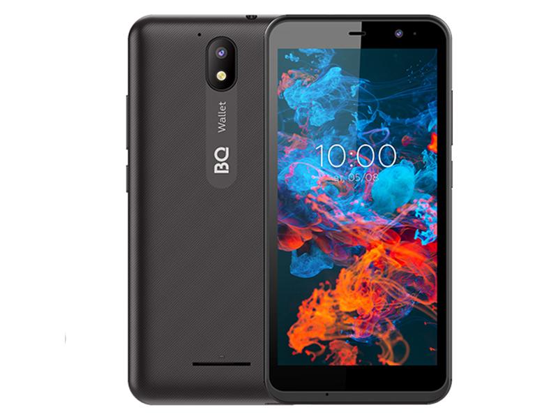 Сотовый телефон BQ 5045L Wallet LTE Black