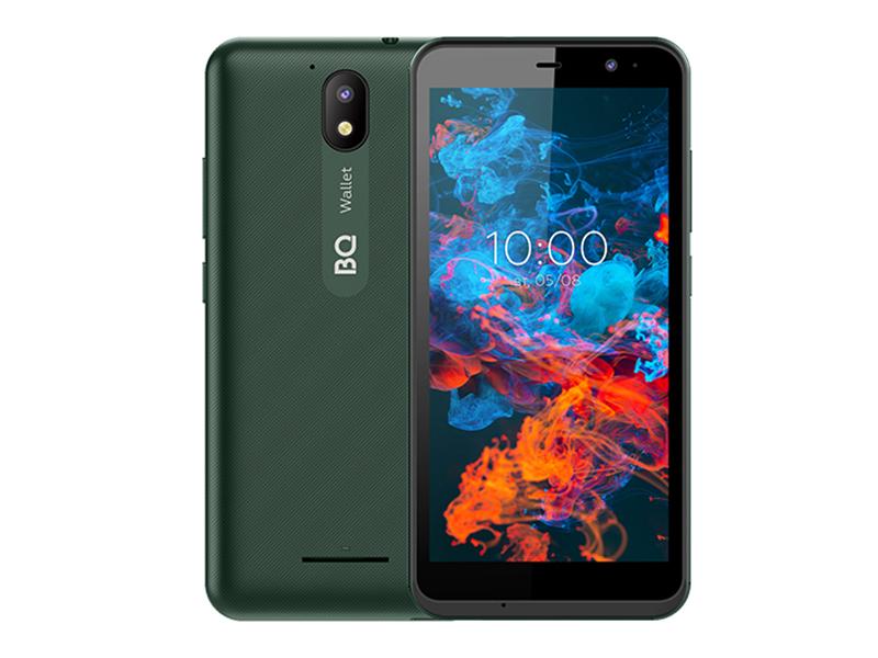 Сотовый телефон BQ 5045L Wallet LTE Green