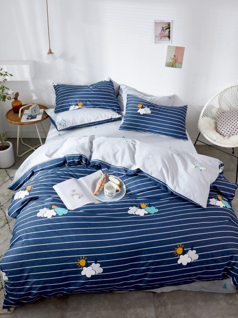 Постельное белье Relance Д30 Комплект 1.5 спальный Сатин